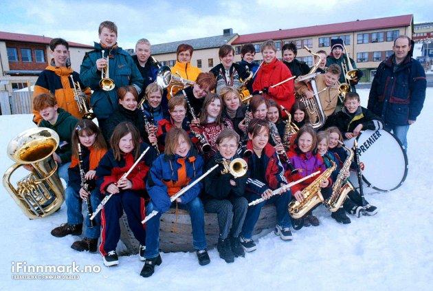 90-TALLET: Havøysund skolekorps har kvalifisert seg til å delta i NM for skolekorps i Lørenskog.