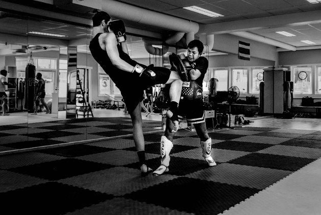 Muay Thai, thaiboksing. Jørgen Boye Berget.
