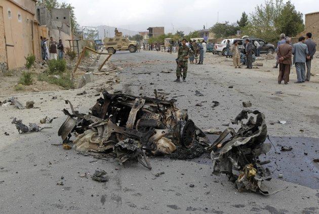 KRIG: Ifølge FN er hele Afghanistan utrygt, og aldri er flere sivile drept, enn i år. Norske myndigheter anser Kabul trygt, men hovedstaden er den farligste provinsen i hele landet. Foto: NTB Scanpix