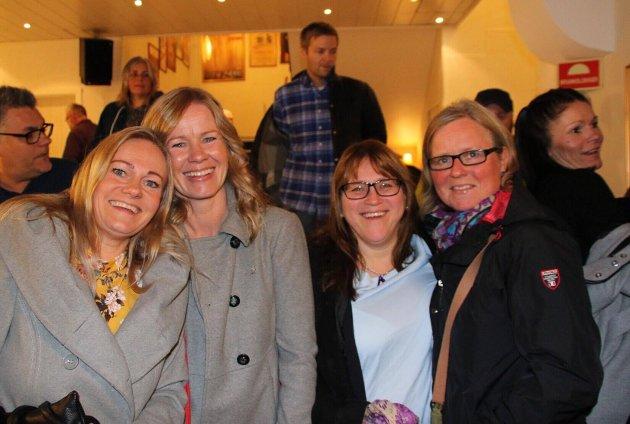 Anniken, Elisabeth, Heidi og Marit