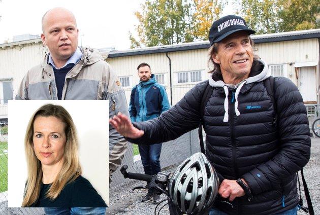 SJARMØRENE: Trygve Slagsvold Vedum og Jan Bøhler kaprer velgere i stort monn. Nå må de vise hvordan distriktene kan få makt, folk og vekst tilbake.