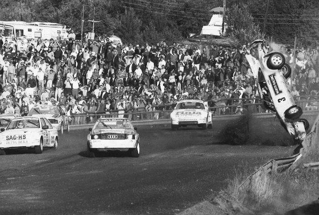 DRAMATIKK: Lyngåsbanen i 1987.
