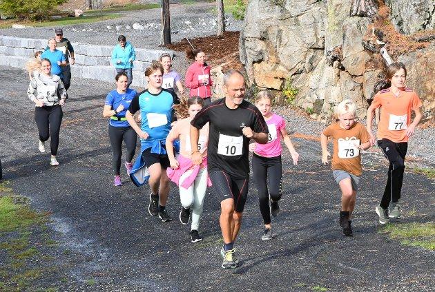 Simen Tveitereid (10) løp inn til en sterk 2. plass.