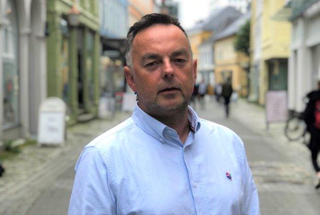 Distriktssjef for Kreftforeningen Vestland, Geir Vangsnes. (Pressefoto).