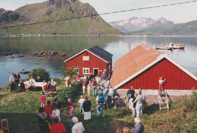 Dette bildet ble tatt på Skaftnesdagene i 1995.