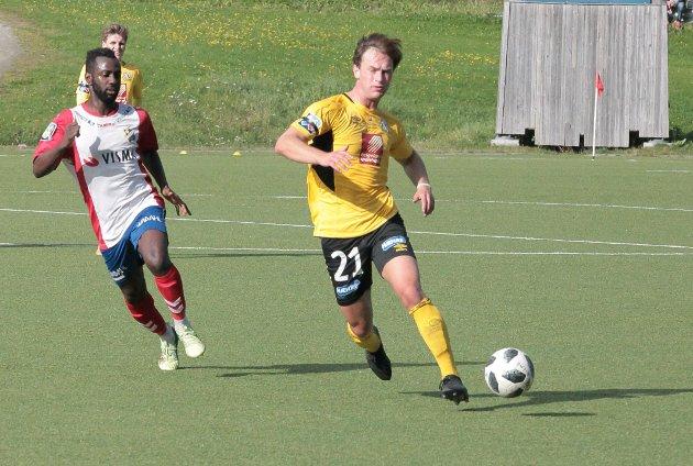 Det ble en ny tung bortekamp for Daniel Anfindsen og Stålkam.