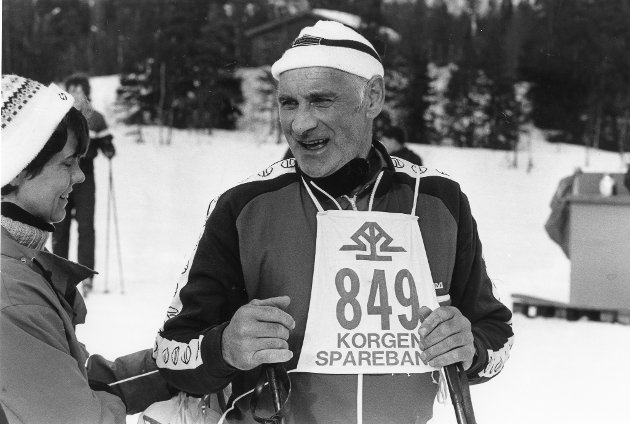 Vargtrekket 1986. Gulle Røssvassbukt, Bleikvassli.