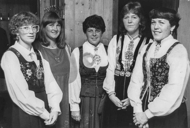 Hobøl Ungdomslag feiret 75 årsjubileum i 1983