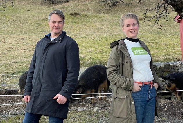 Mairus Langballe Dalin og Mariel Eikeset Koren er høvesvis 1. og 2. kandidat til Stortinget for MDG Sogn og Fjordane.