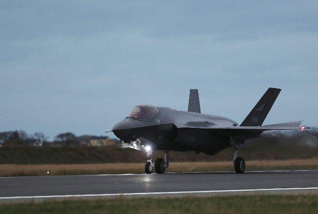 Allsidig: Forsvarets nye F 35 som skal være til hjelp for alle forsvarets disipliner.