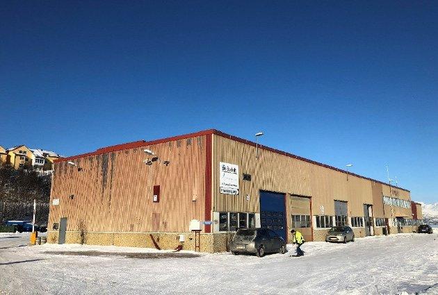 «Slottet» på Skattøra, der Tromsø kommunes avdeling Bydrift har holdt til i mange år.