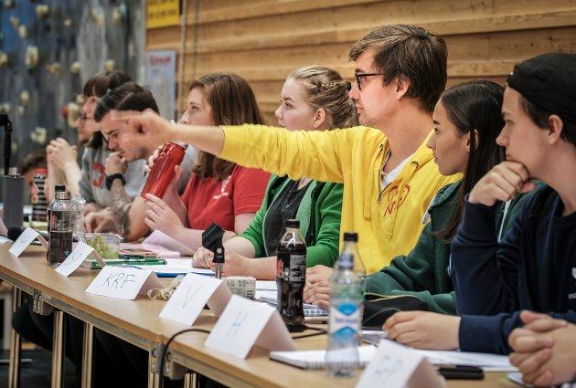 Skoledebatt ved Polarsirkelen videregående skole på Mjølan.