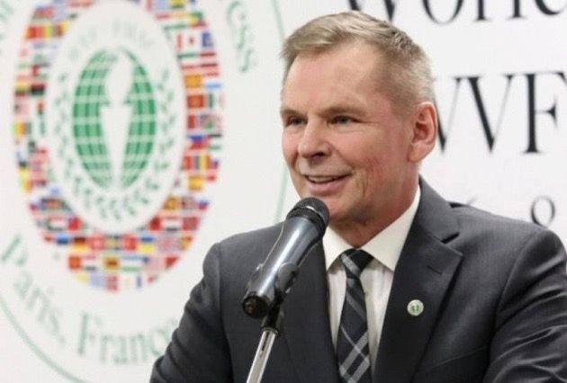Ny mobbeplan: Dan-Viggo Bergtun er President i World Veterans Federation, som knytter over 60 millioner veteraner fra 142 land i arbeid for fred og velbefinnende for veteraner som har vært involvert i kriger og konflikter.