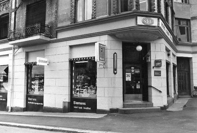 Moss Elektrisk A/S i  Gudesgate 2, 1984.