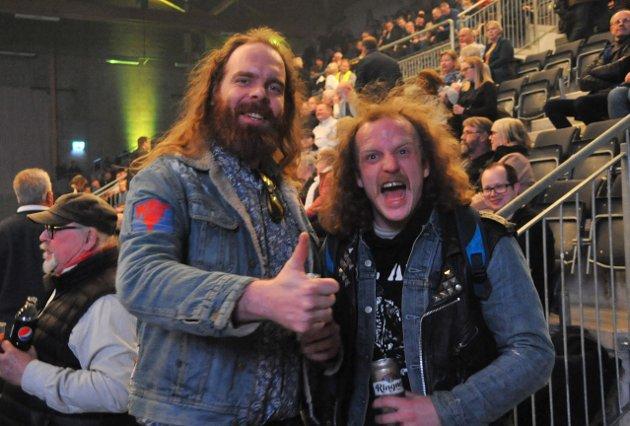 VAZELINA BILOPPHØGGERS: Disse var på Vazelina Bilopphøggers konsert i Elverum fredag kveld.