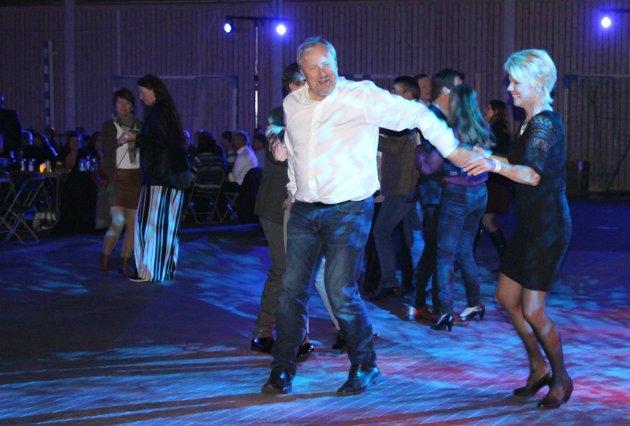 På dansegulvet:
