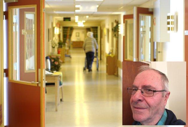 UVERDIG ELDREOMSORG: Ventelistene bør derfor gjeninnføres slik at kommunen kan få bygget sårt tiltrengte sykehjemsplasser, mener Olav Bjotveit.