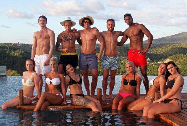 KLARE FOR REALITY: Disse deltakerne har sjekket inn på Paradise Hotel. Foto: Silje Bjørnstad (Side2)