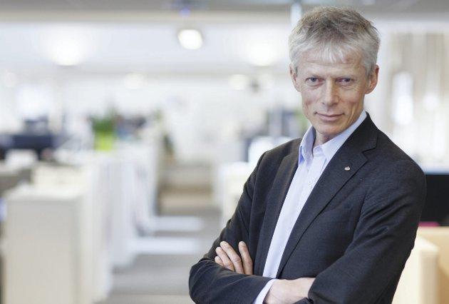 Skattedirektør Hans Christian Holte vil redusere klimaavtrykket til Skatteetaten.