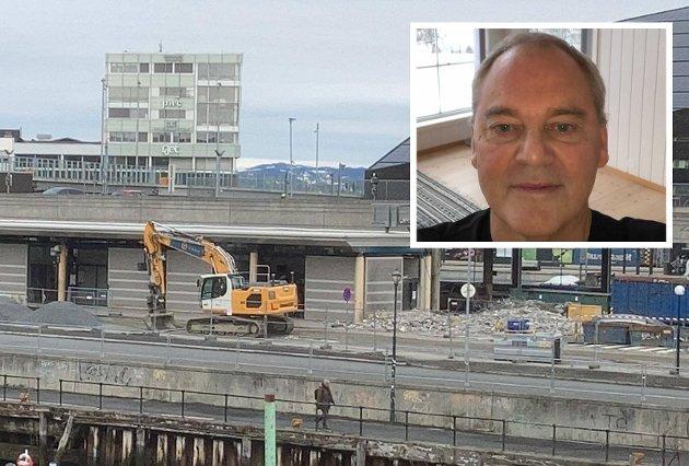 Selv med vinduer og dører lukket i leilighetene på andre siden av kanalen er lyden gjennomtrengende. Levenet startet klokken 04:00, skriver Morten Loktu.