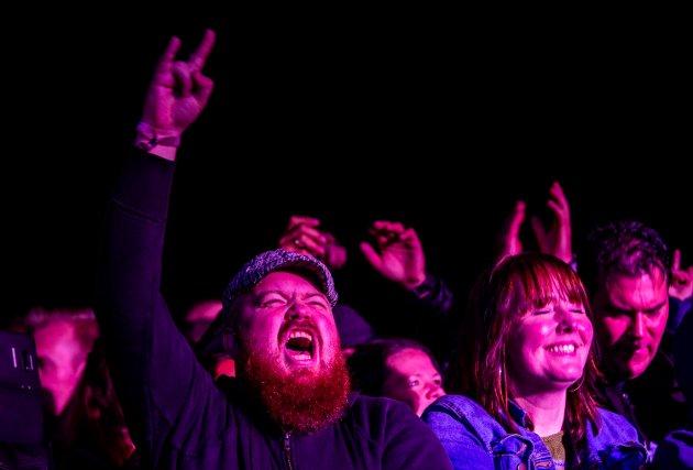 God stemning blant publikum da Dumdum Boys sto på scenen under Lillehammer Live.