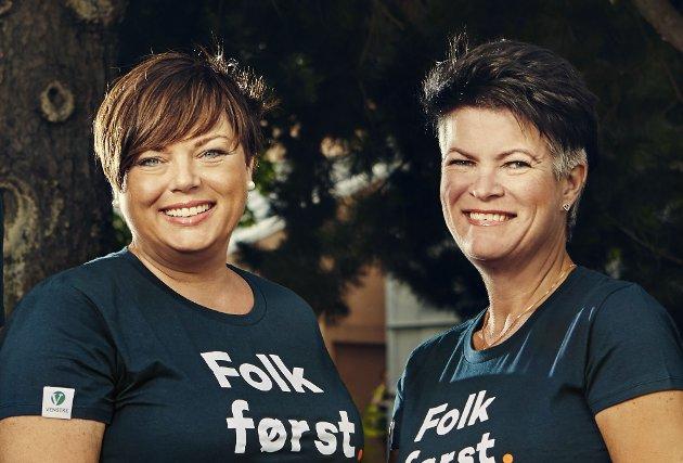 YRKESFAG: Innlandet Venstre ved Ingjerd Thon Hagaseth og Christin Guldahl Madsen vil styrke yrkesfagene og fagskoleutdanningen