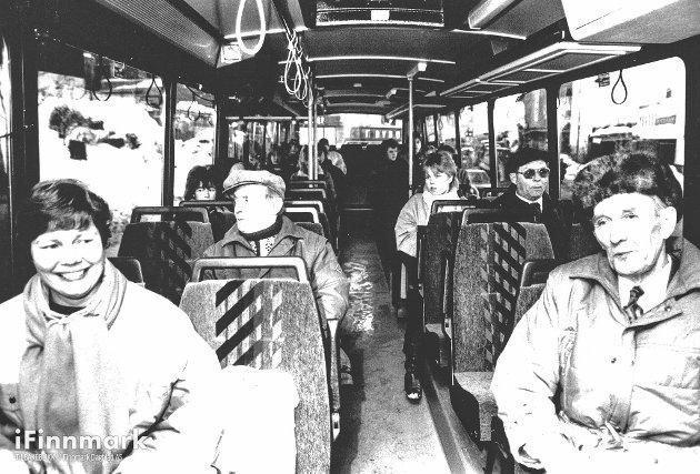 17.03.88: FFR. Bybussen i Hammerfest.