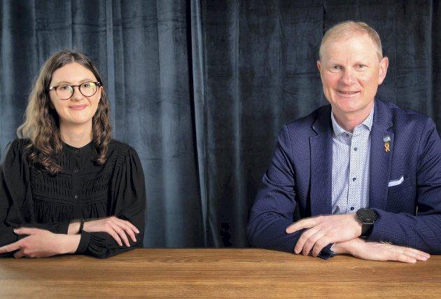 Pasienten i sentrum: Med fritt brukervalg, skriver Hedda Wike og Erlend Larsen (Høyre). Foto: Høyre
