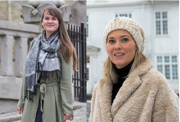 MÅLING: I en ny meningsmåling for GD er både andrekandidat Marit Knutsdatter Strand (t.v.) og tredjekandidat Kjersti Bjørnstad fra Sp inne på Opplandsbenken.