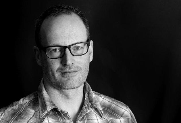 Martin Gray, ansvarlig redaktør i Østlandets Blad.