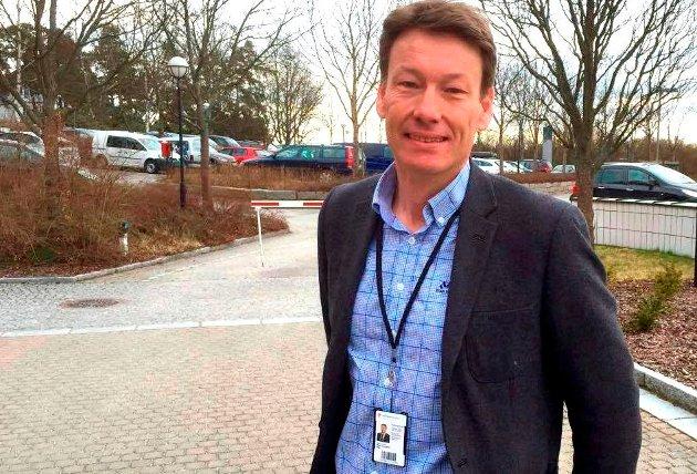 Råde kommune har gjort sin del av jobben, blant annet med regulering. Spaden kan settes i jorda når som helst, er Glenn Melbys melding til Olav Moe (bildet) som leder fylkeskommunens samferdselsutvalg.