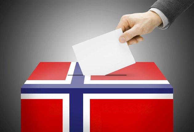 Godt Valg! Bruk stemmeretten! Foto: Colourbox
