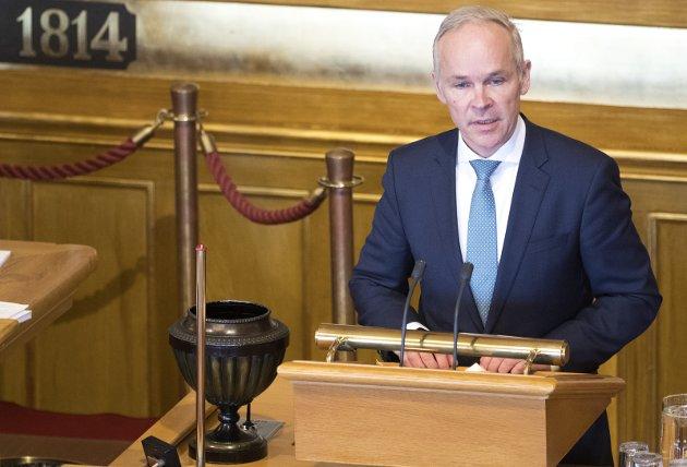 ANSVAR: I den politiske diskusjonen har alle et ansvar men politiske ledere bærer det største ansvaret skriver Jan Tore Sanner (H) (bildet). Foto: NTB scanpix
