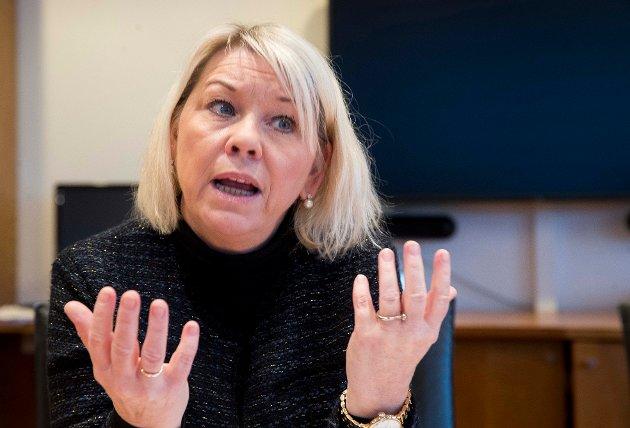 Ikke overbevist: Innsenderen mener kommunalminister Monica Mælands (H) argumenter for hvorfor store kommune er positivt er lite overbevisende.