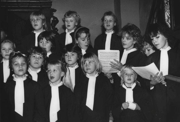 Julekonsert i Skiptvet kirke desember 1987.