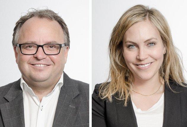 TA EN GJENNOMGANG: Både avtaler med kunder og underleverandører bør gjennomgås, er rådet til advokatene Terje Dahl Svendsen og Caroline Jahre Viksand i Tenden Advokatfirma ANS.
