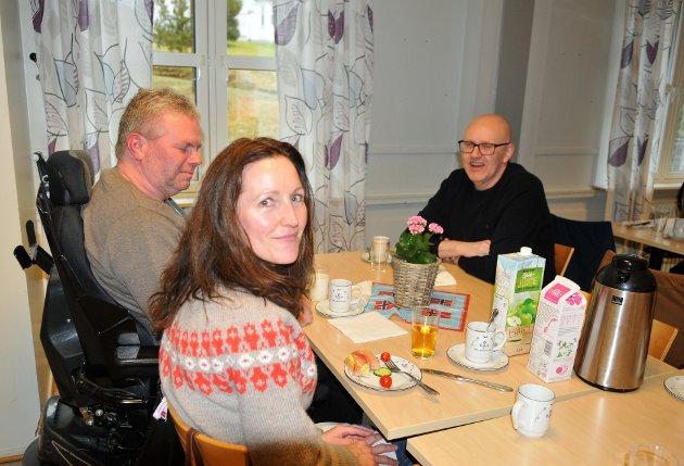 TRIVELIG LAG synes Gunn Elisabeth Johansen, Terje Lunaas og Erik Myrå.