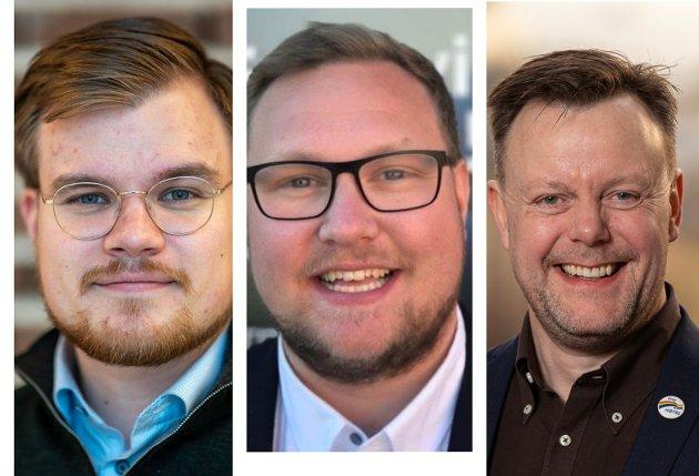 Vetle Langedahl, Erlend Svardal Bøe og Håkon Vahl