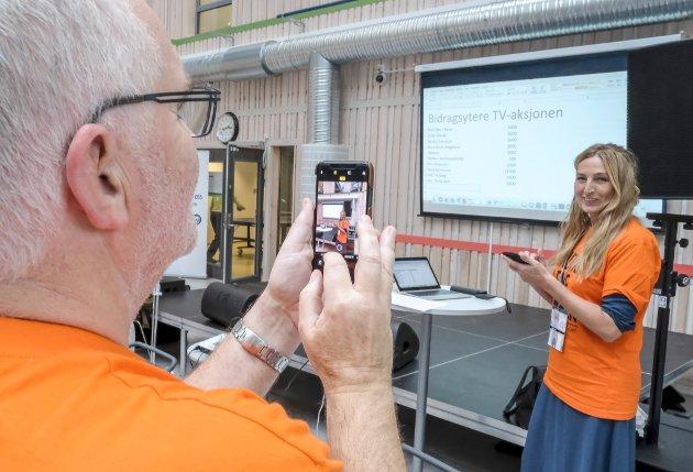 TV-aksjonen til inntekt for Kirkens bymisjon. Stein Hovind er årets lokale aksjonsleder.