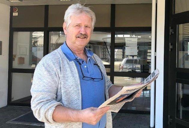 SKOLE: - Rektoren ved Tau skole har ikke lekket til Strandbuen, sier redaktør Jens Bjørheim i denne kommentaren.