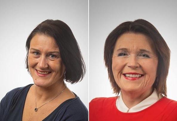 Lise Lorentzen Mandal og Kirsti Nilsson Søyland