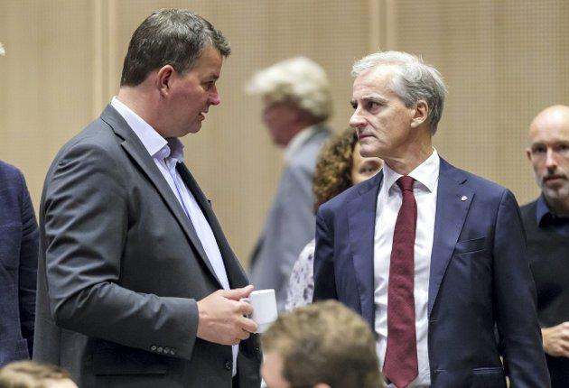 Forslaget om pensjonsopptjening fra første krone, vil være en av Ap og LOs største seire, skriver Henrik Drivenes. Foto: NTB/Scanpix