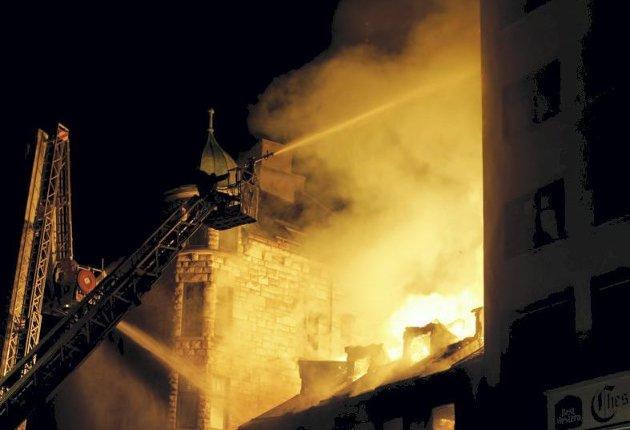 – Dei gongane vi rykkar ut til brannmeldingar hos eldre, er det med hjartet ekstra høgt i halsen. ILLUSTRASJONSFOTO: Gorm Kallestad / NTB