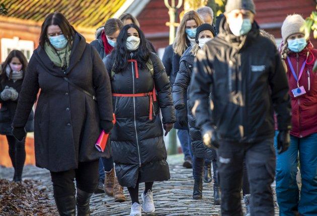 – Det handler ikke om motstand mot rusavhengige, men forsvarligheten i prosjektet, skriver naboer til det planlagte botilbudet for rusavhengige i Nyhavnsveien. FOTO: Eirik Hagesæter