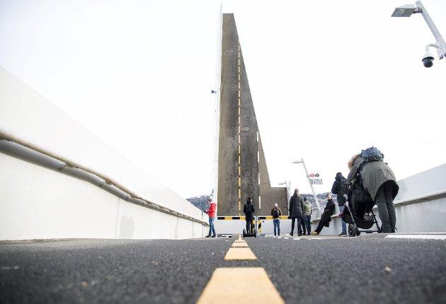 Det har vert mye trøbbel med broen Småpudden i det siste. FOTO: SKJALG EKELAND
