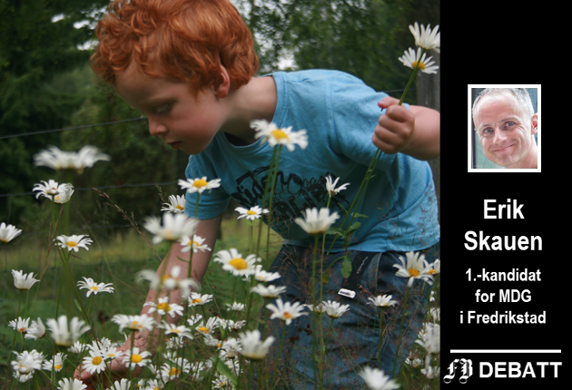 Ville blomster gir flere insekter og glede for store og små.