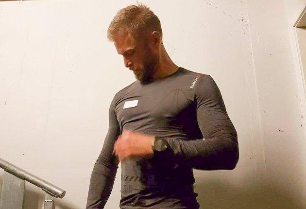 Rune Lian gjør seg klar til start