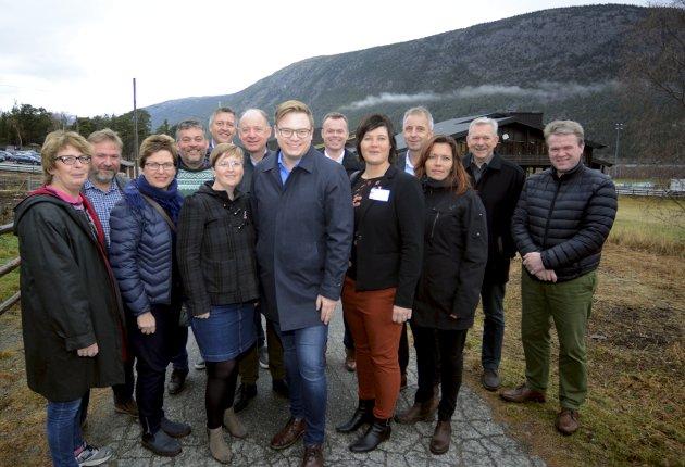 MOBILISERING: Ordførerne i dalen har tatt et viktig steg i retning dalen som egen region. Foto: Ketil Sandviken