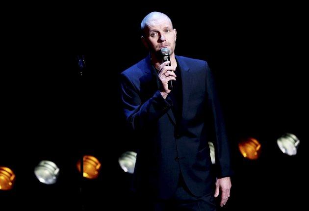 TRE SHOW LØRDAG: Bård Tufte Johansen er en av komikeren som står på scenen lørdag i Haugesund.    Foto: