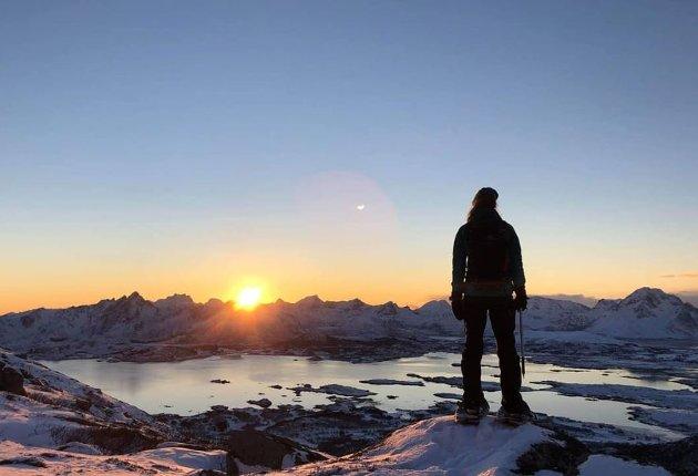 På Instagram ligger over 35.000 bilder tagga med Lofotposten. Vi takker alle som deler bilder med oss. Her er et knippe vinterbilder fra noen av våre trofaste bidragsytere.